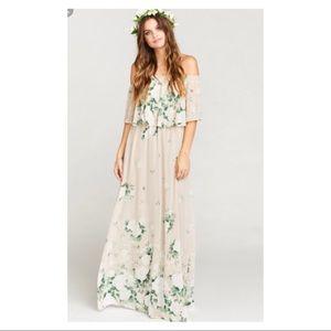 Bouquet Toss Hacienda Dress 🌸